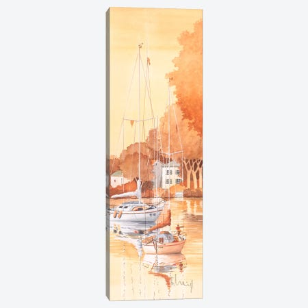 Seaside III Canvas Print #HEI13} by Franz Heigl Canvas Art