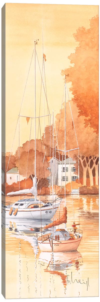 Seaside III Canvas Art Print