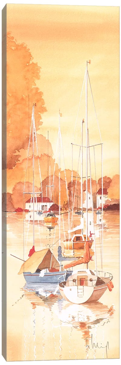Seaside IV Canvas Art Print