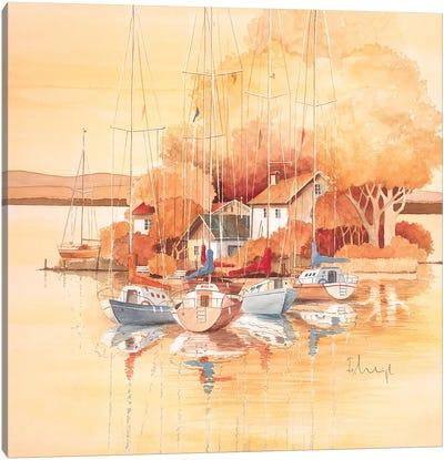 Boats I Canvas Art Print