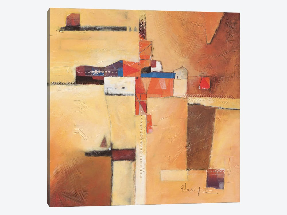 Abstract I by Franz Heigl 1-piece Canvas Art