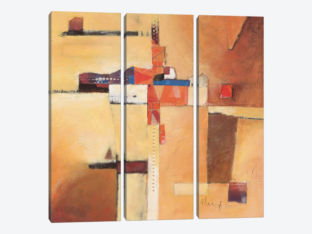 Abstract I by Franz Heigl 3-piece Canvas Art