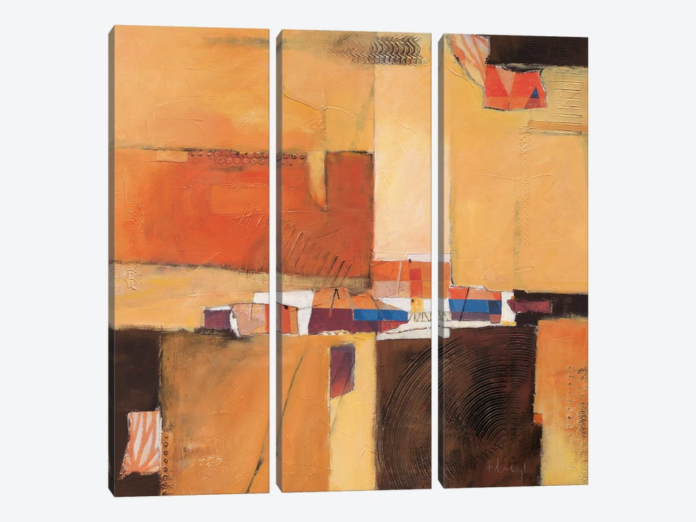 Abstract II 3-piece Canvas Art Print