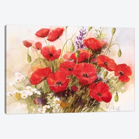 Flower Composition III Canvas Print #HEI6} by Franz Heigl Canvas Print