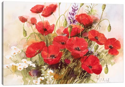 Flower Composition III Canvas Art Print