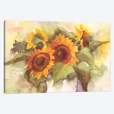 Flower Composition IV Canvas Print #HEI7} by Franz Heigl Canvas Print