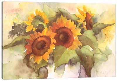 Flower Composition IV Canvas Art Print