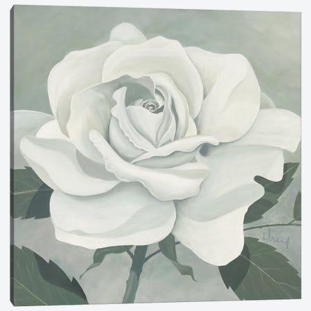Rose One Canvas Print #HEI9} by Franz Heigl Canvas Wall Art