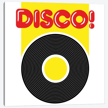 Disco! Canvas Print #HEM103} by Hemingway Design Canvas Artwork