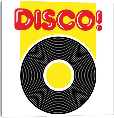Disco! Canvas Art Print