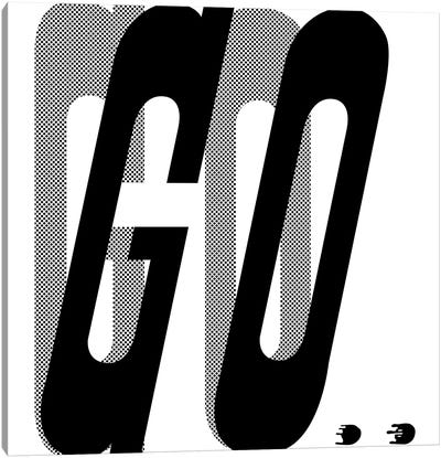Go Canvas Art Print
