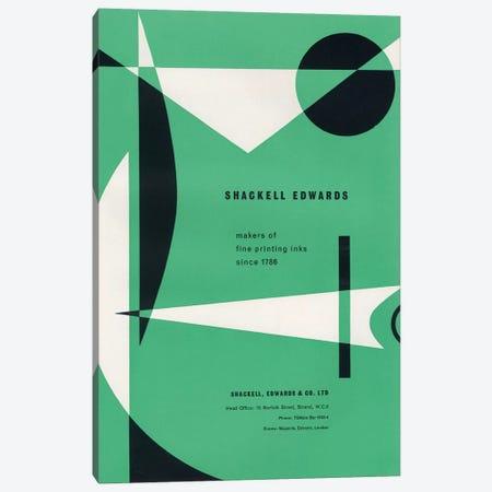 Abstract Shapes Canvas Print #HEM105} by Hemingway Design Canvas Print