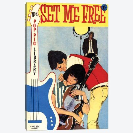 Set Me Free Canvas Print #HEM109} by Hemingway Design Canvas Wall Art