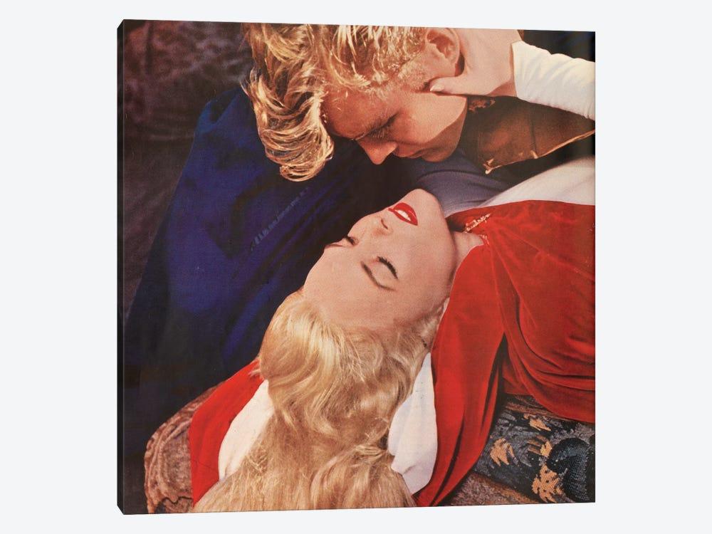 Blonde Kiss by Hemingway Design 1-piece Canvas Art