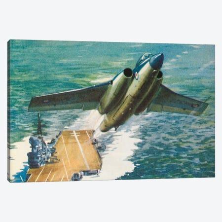 Bucaneer Take Off Canvas Print #HEM16} by Hemingway Design Art Print