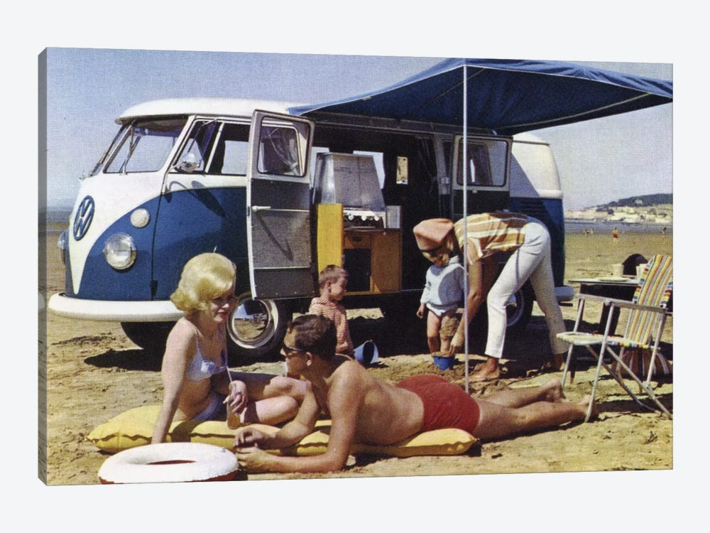 Caravan Family by Hemingway Design 1-piece Canvas Artwork