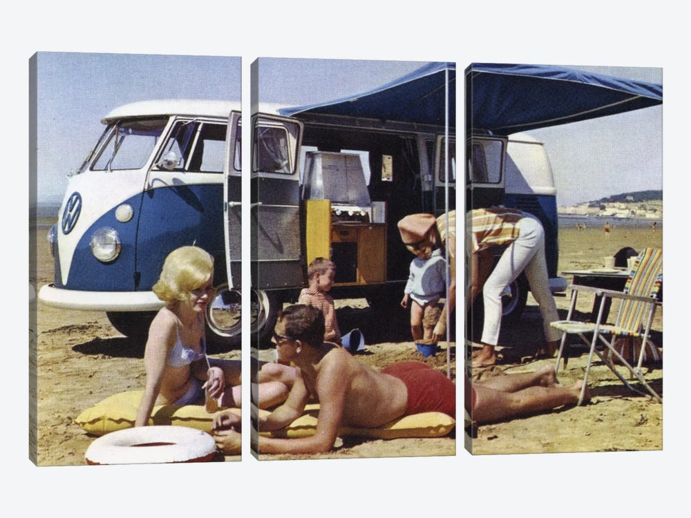 Caravan Family by Hemingway Design 3-piece Canvas Art