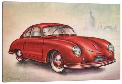 1952 Porsche Canvas Art Print