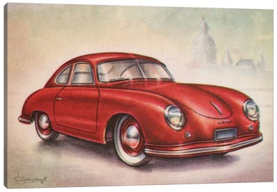 1952 Porsche Canvas Art Print