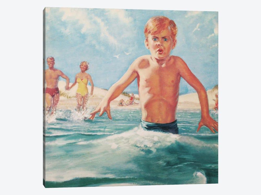 Cold Boy by Hemingway Design 1-piece Canvas Art Print