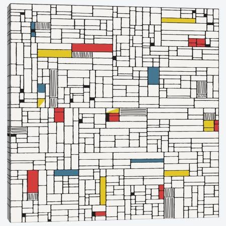 Computer Grid Canvas Print #HEM21} by Hemingway Design Canvas Print