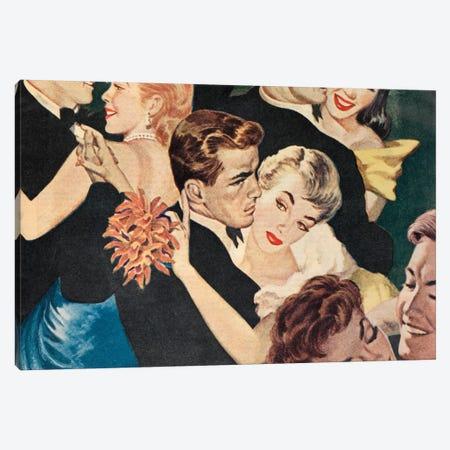 Dancing With A Flower Canvas Print #HEM23} by Hemingway Design Canvas Print