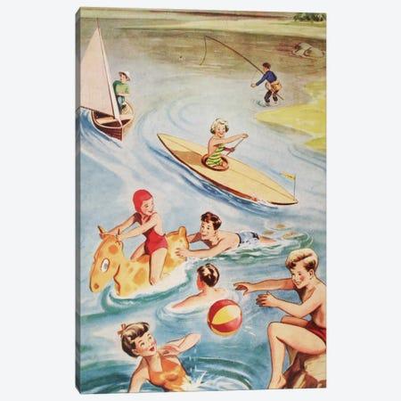 Fun And Frolics Canvas Print #HEM32} by Hemingway Design Canvas Art