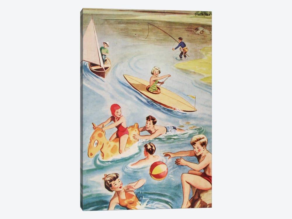 Fun And Frolics by Hemingway Design 1-piece Canvas Wall Art
