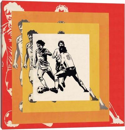 Futbol Graphics Canvas Art Print