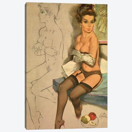 Hold Me Back Canvas Print #HEM41} by Hemingway Design Canvas Art Print