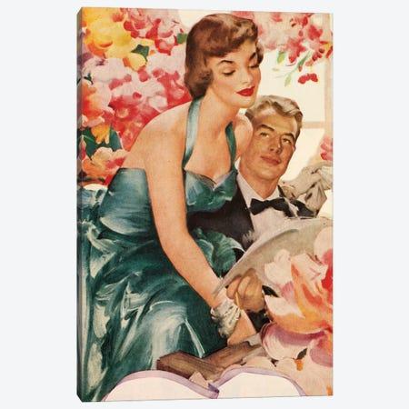 I Love Her Canvas Print #HEM42} by Hemingway Design Canvas Art Print