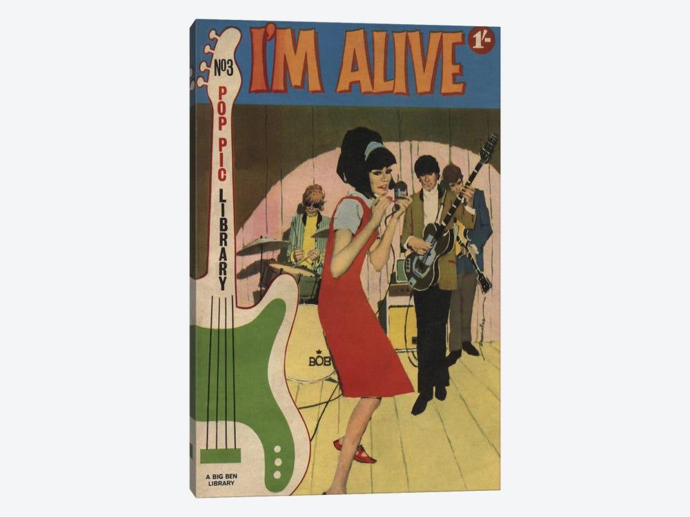 I'm Alive by Hemingway Design 1-piece Canvas Art Print