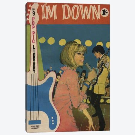 I'm Down Canvas Print #HEM45} by Hemingway Design Canvas Artwork