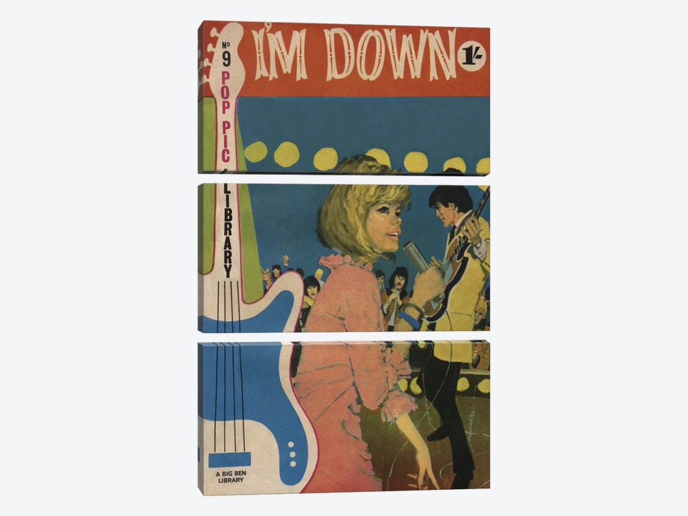 I'm Down by Hemingway Design 3-piece Canvas Wall Art