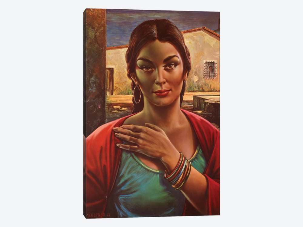 Lalinda The Gipsy Seller by Hemingway Design 1-piece Canvas Art Print