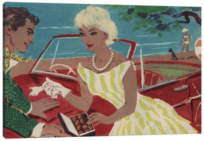 Late Night Drive Canvas Print #HEM52