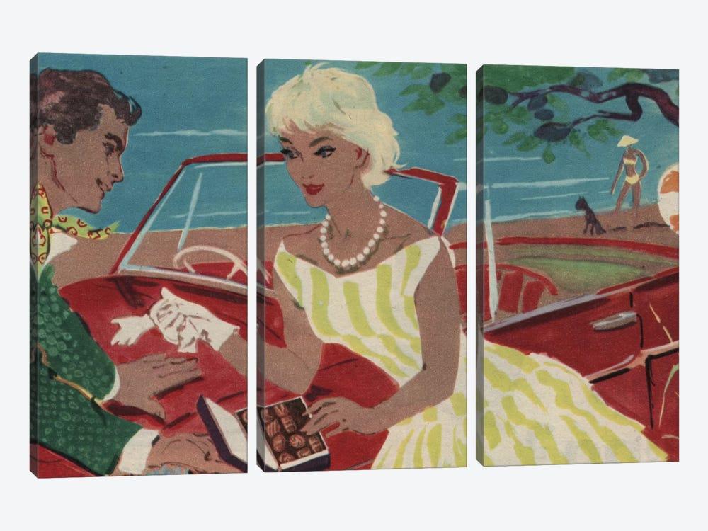 Late Night Drive by Hemingway Design 3-piece Canvas Wall Art