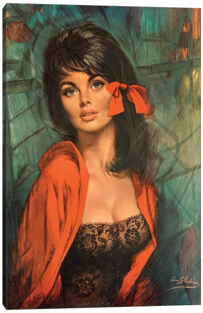 Melanie Canvas Art Print
