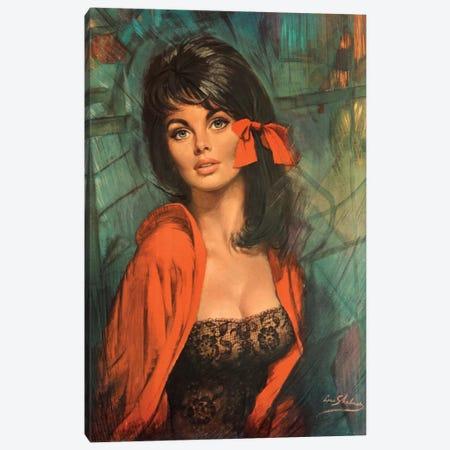 Melanie Canvas Print #HEM57} by Hemingway Design Art Print