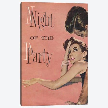 Night Of The Party Canvas Print #HEM60} by Hemingway Design Canvas Print