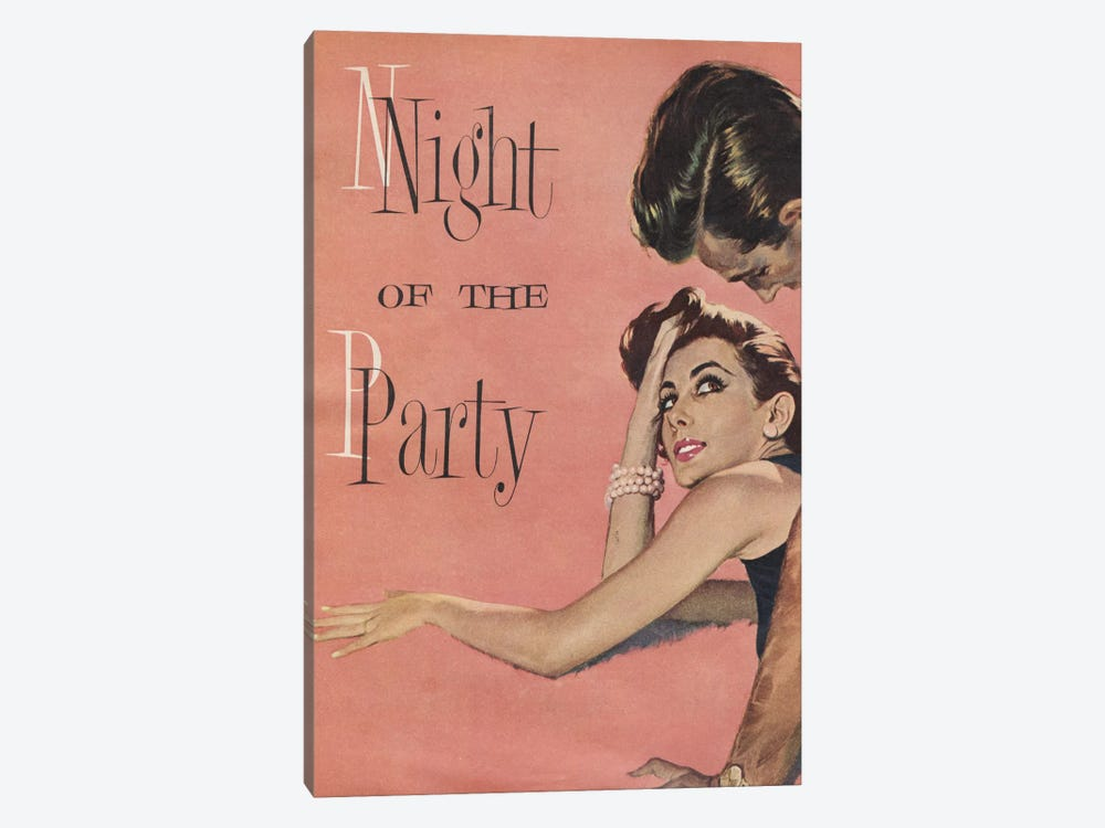Night Of The Party by Hemingway Design 1-piece Canvas Print