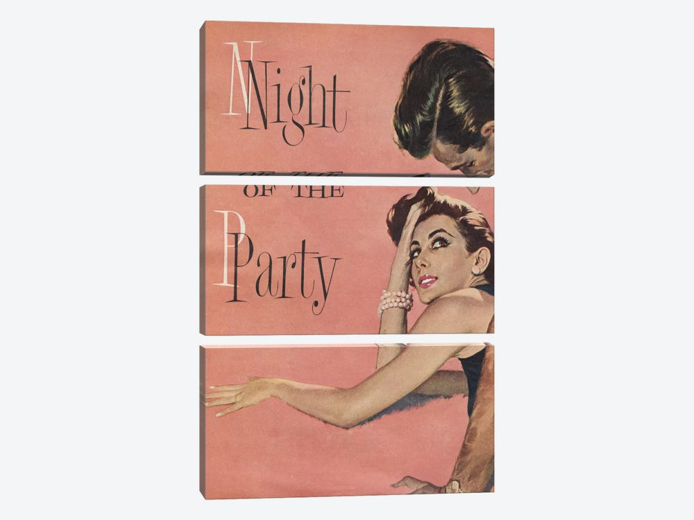Night Of The Party by Hemingway Design 3-piece Art Print