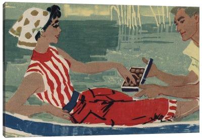Romantic Gondola Canvas Art Print