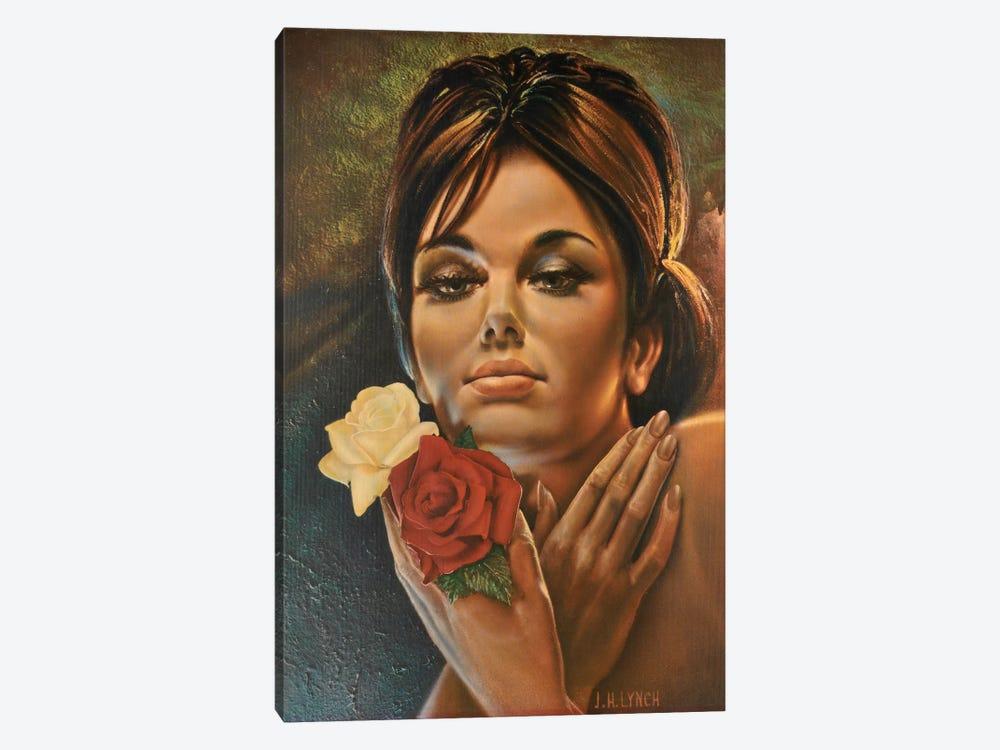 Roses Like Roses by Hemingway Design 1-piece Canvas Artwork
