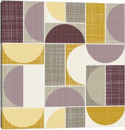 Semi-Circles I Canvas Print #HEM70