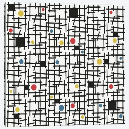 Spot The Dot Canvas Print #HEM75} by Hemingway Design Canvas Print