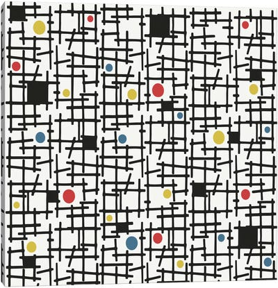 Spot The Dot Canvas Art Print