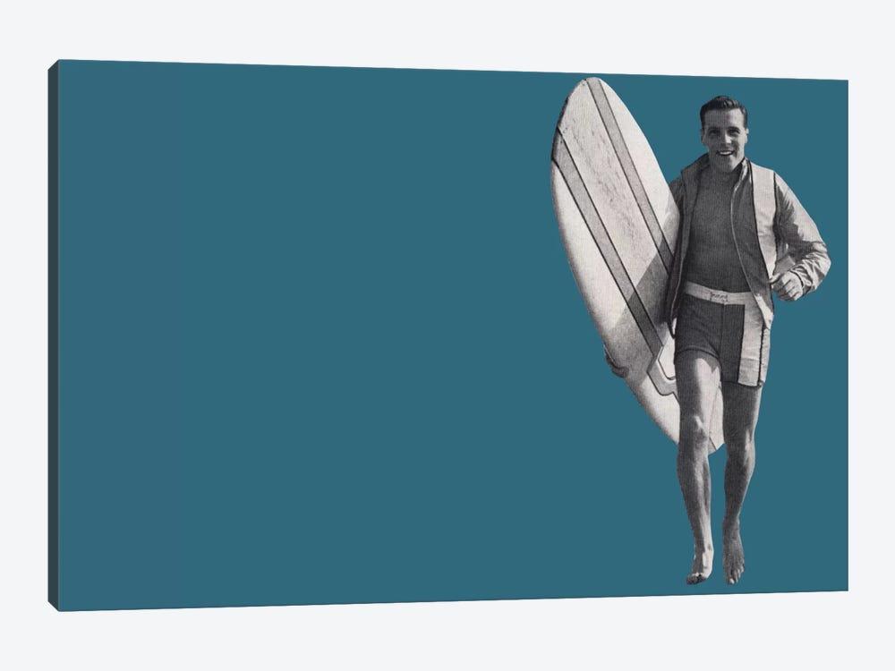 Surfer Dude by Hemingway Design 1-piece Canvas Wall Art