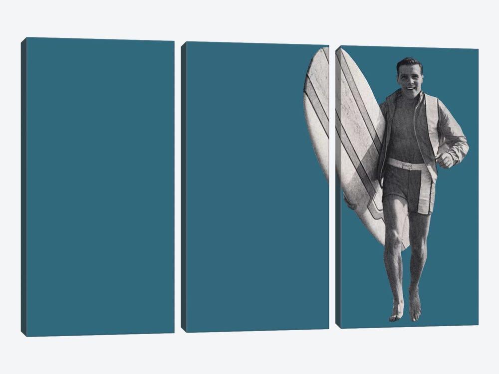 Surfer Dude by Hemingway Design 3-piece Canvas Art