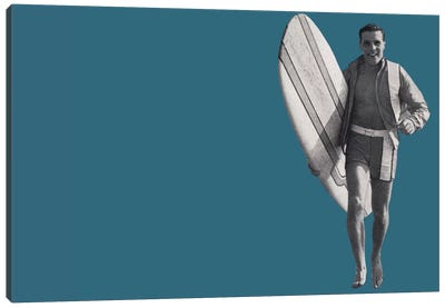 Surfer Dude Canvas Print #HEM78